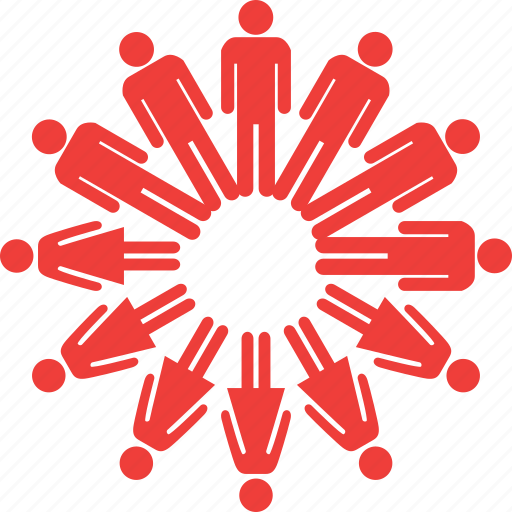connection, knowledge, network, people, people link, social link, teamwork icon