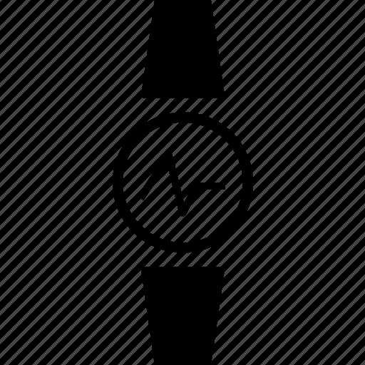 fitness tracker, heart rate tracker, heart tracker, watch, wearable tracker icon