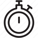 diet, fitness, health, stopwatch, time icon