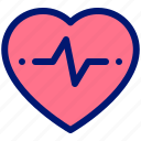 condition, fitness, health, heart icon