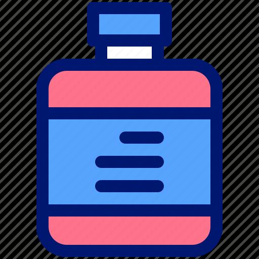 bottle, diet, fitness, health, supplement icon