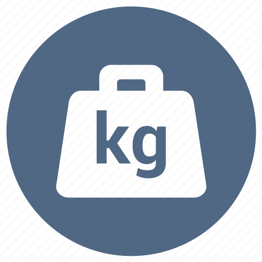 gym, heavy, kg, measure, weight icon