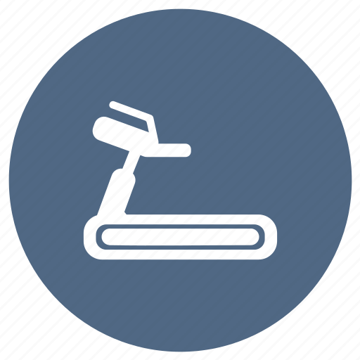 Gym, equipment, exercise, fitness, machine, running, treadmill icon - Download on Iconfinder