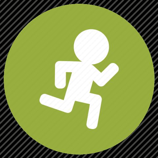 fitness, gym, jogging, run, running icon