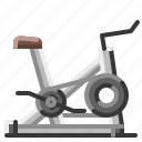 bicycle, exercise, fitness, gym, healthy, stationary