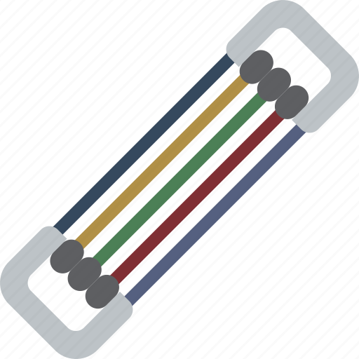 band, equipment, fitness, gym, health, resistance icon