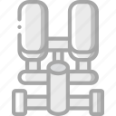 equipment, fitness, gym, health, stepper icon