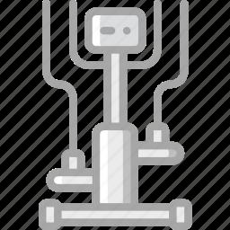 cross, equipment, fitness, gym, health, trainer icon