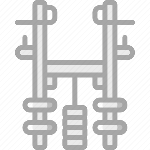 assisted, equipment, fitness, gym, health, pull, up icon