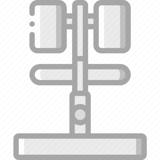 bench, equipment, extension, fitness, gym, health, hyper icon
