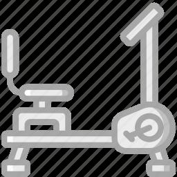 bike, equipment, exercise, fitness, gym, health icon