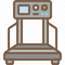 equipment, fitness, gym, health, treadmill icon
