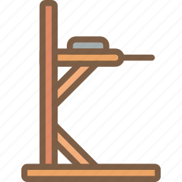 dip, equipment, fitness, gym, health, station icon