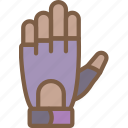 equipment, fitness, gloves, gym, health, training icon