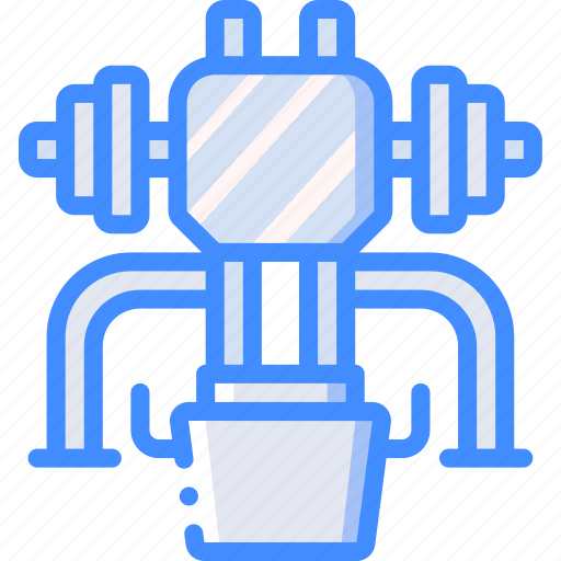 equipment, fitness, gym, health, leg, press icon