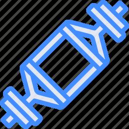 bar, deadlift, equipment, fitness, gym, health icon