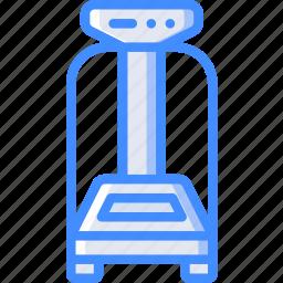 equipment, fitness, gym, health, machine, vibration icon