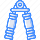 equipment, fitness, grip, gym, health, spring, strength icon