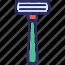 shaver, barbershop, hair salon, razor, shaving icon