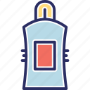 body soap, bottle, hair oil, lotion, oil bottle icon