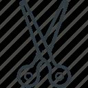 cutting tool, barber shear, hair cutting, scissor, shear, hairdressing icon