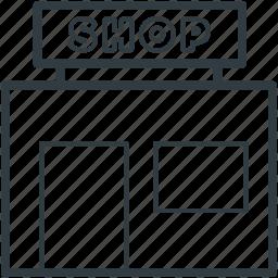 barbershop, beauty salon, coiffeur, shop, store icon