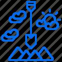 construction, digger, sand, shovel, soil icon