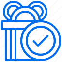 box, delivery, gift, order, shipping icon