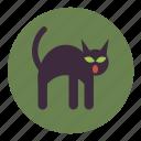 animal, bad, black, cat, creepy, halloween, luck icon