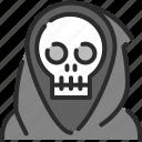dead, death, evil, halloween, monster, skull icon