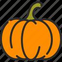 eat, halloween, pumpkin, vegetable icon