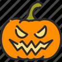 fear, halloween, horror, jack o lantern, monster, pumpkin, spooky