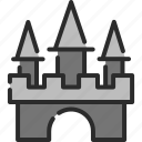 castle, halloween, haunted house, home, house, kingdom, royal icon