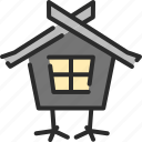 halloween, haunted, haunted house, home, house, hut icon
