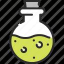 bottle, death, drug, medicine, mixture, poison, potion icon