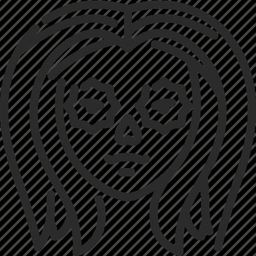 45b27d2187d04 Avatar, doll, female, girl, halloween, sugar skull icon