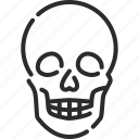 dangerous, death, halloween, horror, pirate, skeleton, skull icon
