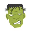 frankenstein, halloween, monster icon
