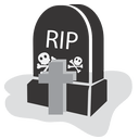 halloween, rip, graveyard