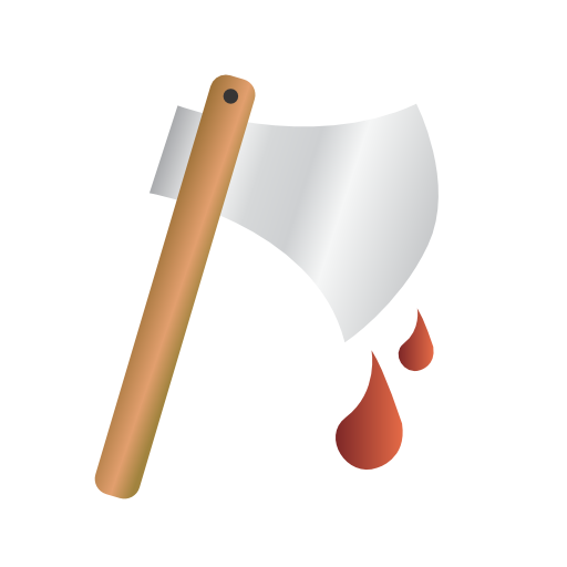 axe, halloween, murder icon