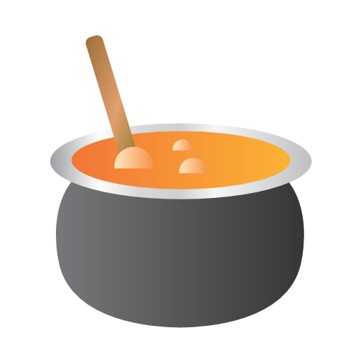 bowl, cauldron, soup icon