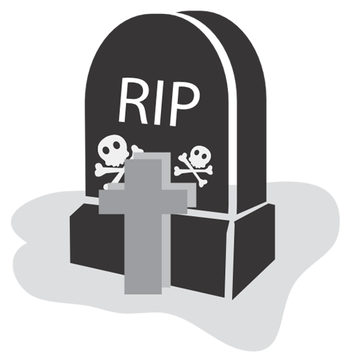 graveyard, halloween, rip icon