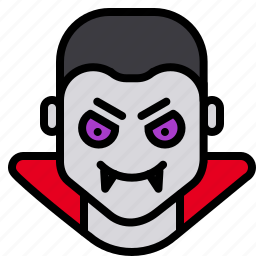 blood, dracula, evil, fangs, halloween, monster, vampire icon