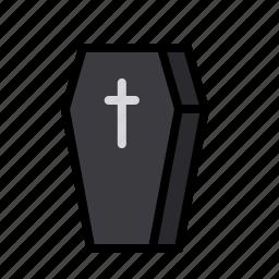 coffin, cross, death, halloween, mummy, zombie icon