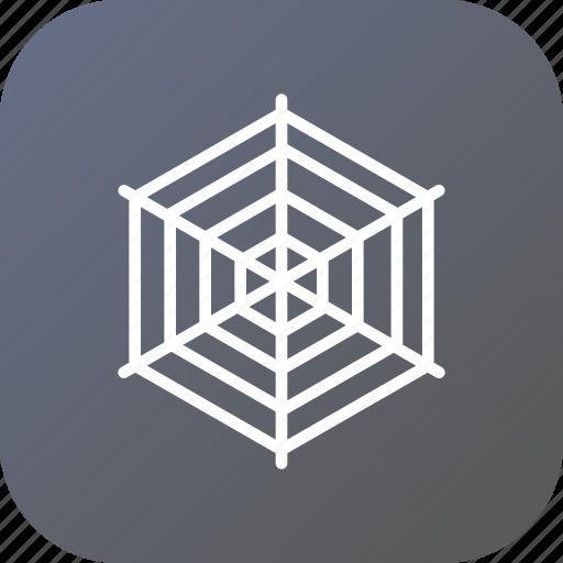 cobweb, silk, spider, spiderweb, trap, tricky, web icon