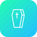 coffin, cross, death, halloween, mummy, zombie icon