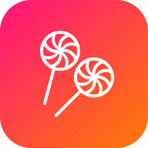 candy, confect, food, halloween, lollipop, sweet, toffee icon