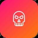 bone, evil, ghost, halloween, scary, skull
