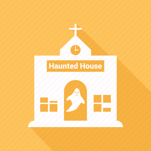 halloween, haunted, house, mansion icon