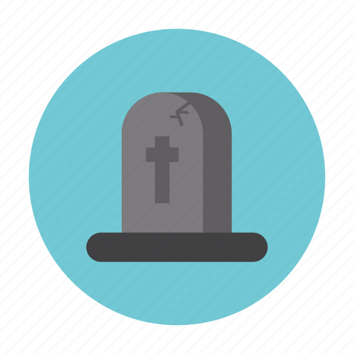 ghost, grave, hallowen, horror, night, treat icon